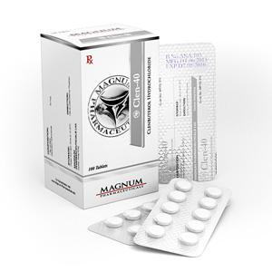 Kopen Clenbuterol hydrochloride (Clen): Magnum Clen-40 Prijs