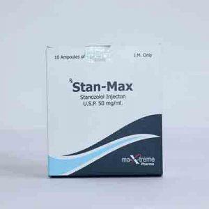 Kopen Stanozolol-injectie (Winstrol-depot): Stan-Max Prijs