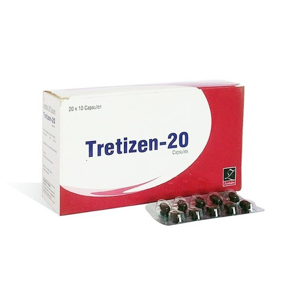 Kopen Isotretinoïne (Accutane): Tretizen 20 Prijs