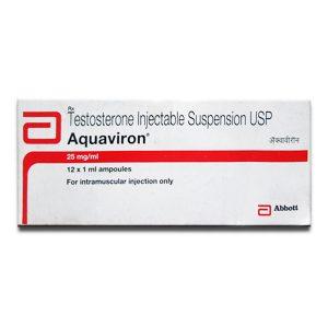 Kopen Testosteron-suspensie: Aquaviron Prijs